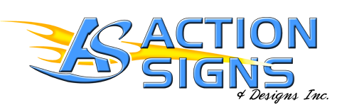 logo action signs